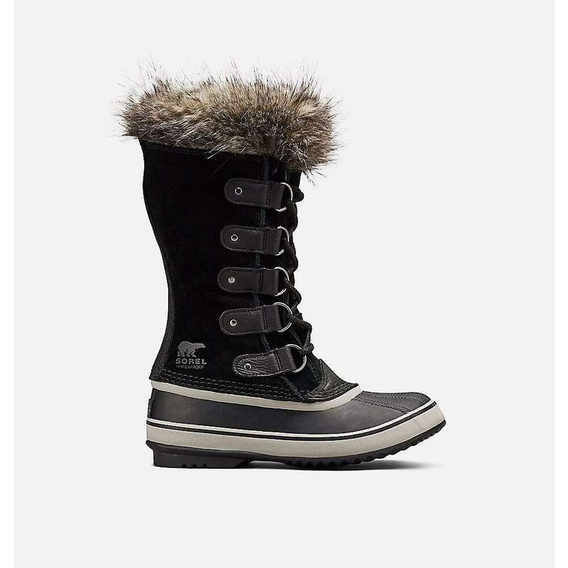 ソレル レディース ブーツ・レインブーツ シューズ Sorel Women's Joan Of Arctic Boot Black / Quarry