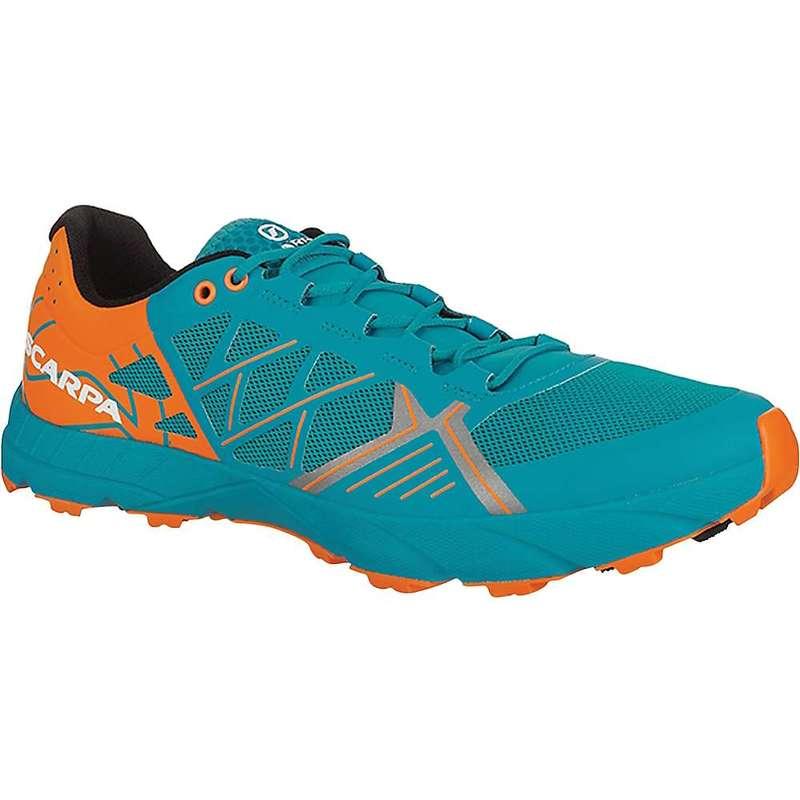 スカルパ メンズ スニーカー シューズ Scarpa Men's Spin Shoe Sea/Bright Orange