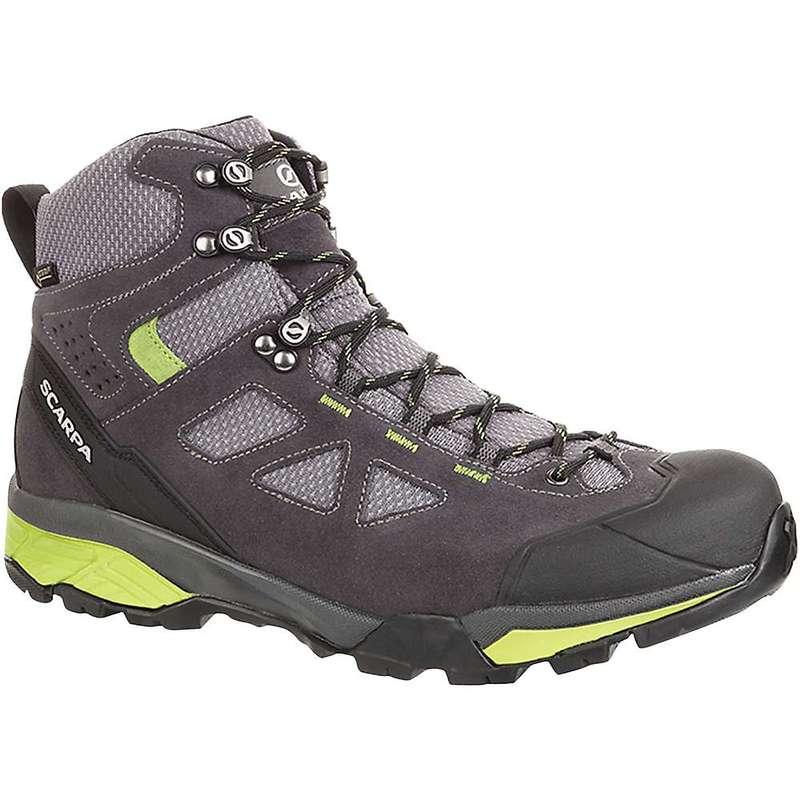 送料無料 サイズ交換無料 ギフ_包装 スカルパ メンズ シューズ ブーツ レインブーツ Dark Lite Zg Spring Gtx Men's Scarpa 品質保証 Grey Boot