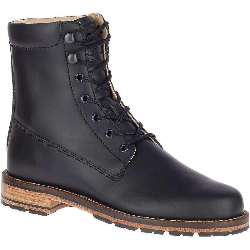 メレル レディース ブーツ・レインブーツ シューズ Merrell Women's Wayfarer LTD Boot Black