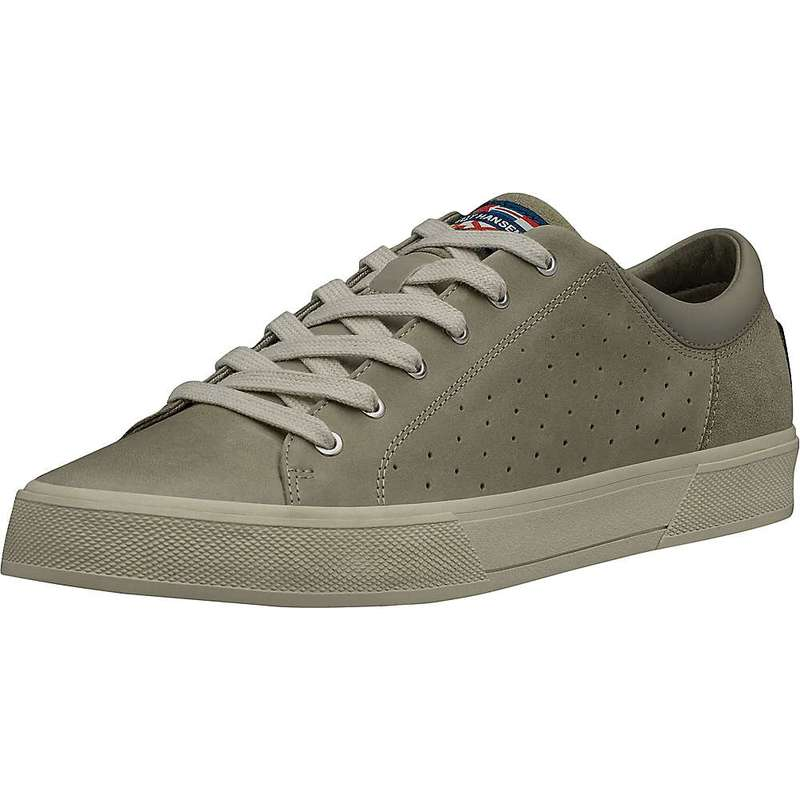 ヘリーハンセン メンズ スニーカー シューズ Helly Hansen Men's Copenhagen Leather Shoe GOAT / ALUMINUM / MOONBEAM