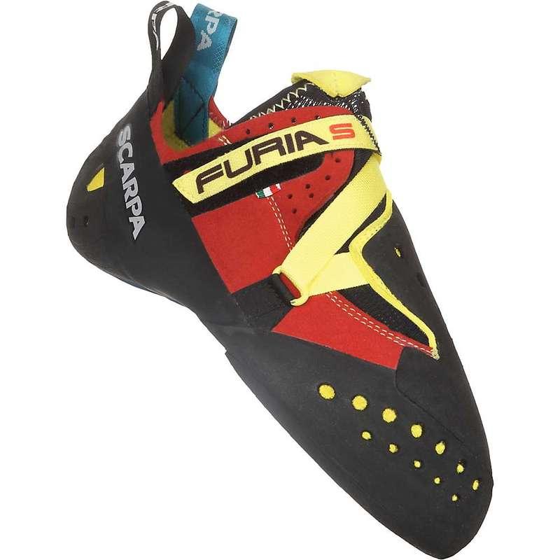 スカルパ メンズ スニーカー シューズ Scarpa Furia S Climbing Shoe Parrot/Yellow