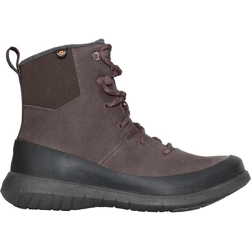 ボグス メンズ ブーツ・レインブーツ シューズ Bogs Men's Freedom Lace Tall Boot Dark Brown