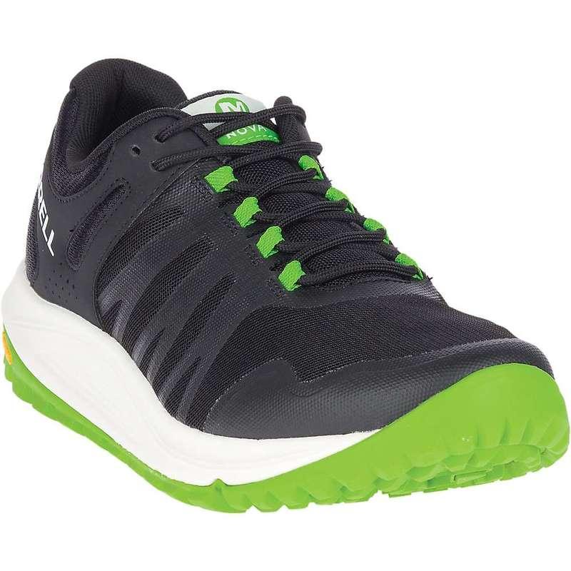 メレル メンズ スニーカー シューズ Merrell Men's Nova Shoe Black / Lime