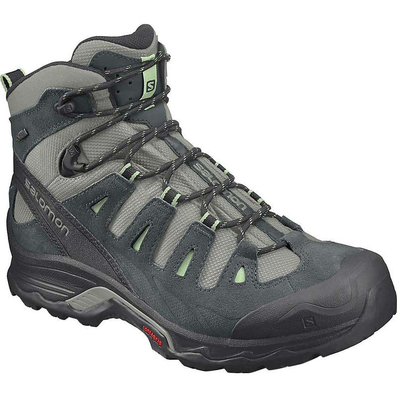 サロモン レディース ブーツ・レインブーツ シューズ Salomon Women's Quest Prime GTX Boot Shadow/Green Gables/Patina Green