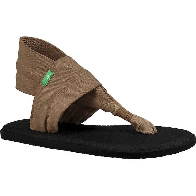 サヌーク レディース サンダル シューズ Sanuk Women's Yoga Sling 2 Sandal Petrified Oak
