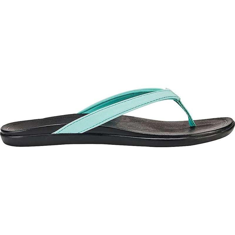 オルカイ レディース サンダル シューズ Olukai Women's Ho'opio Sandal Lagoon/Black