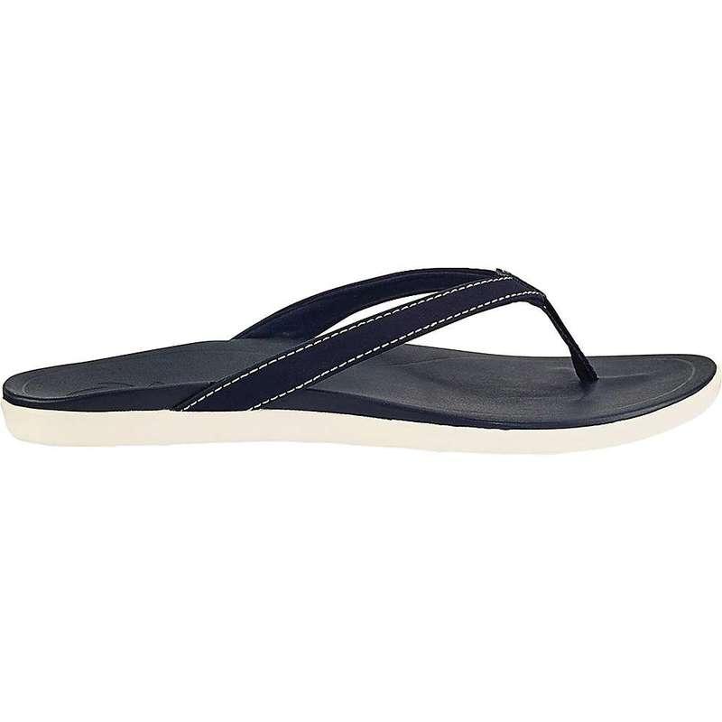 オルカイ レディース サンダル シューズ Olukai Women's Ho'opio Sandal Trench Blue/Trench Blue