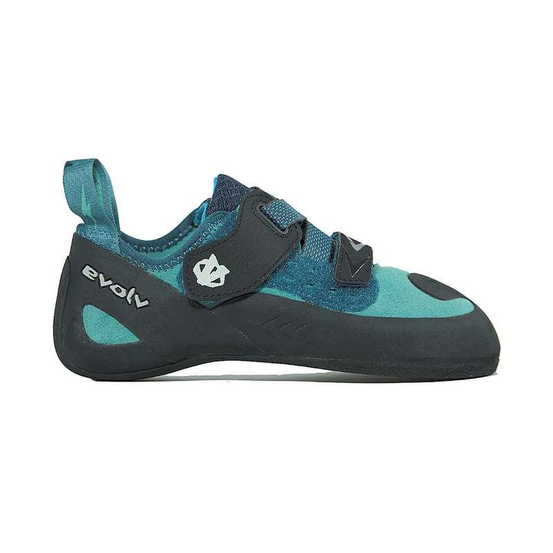 エボルブ レディース スニーカー シューズ Evolv Women's Kira Climbing Shoe Teal