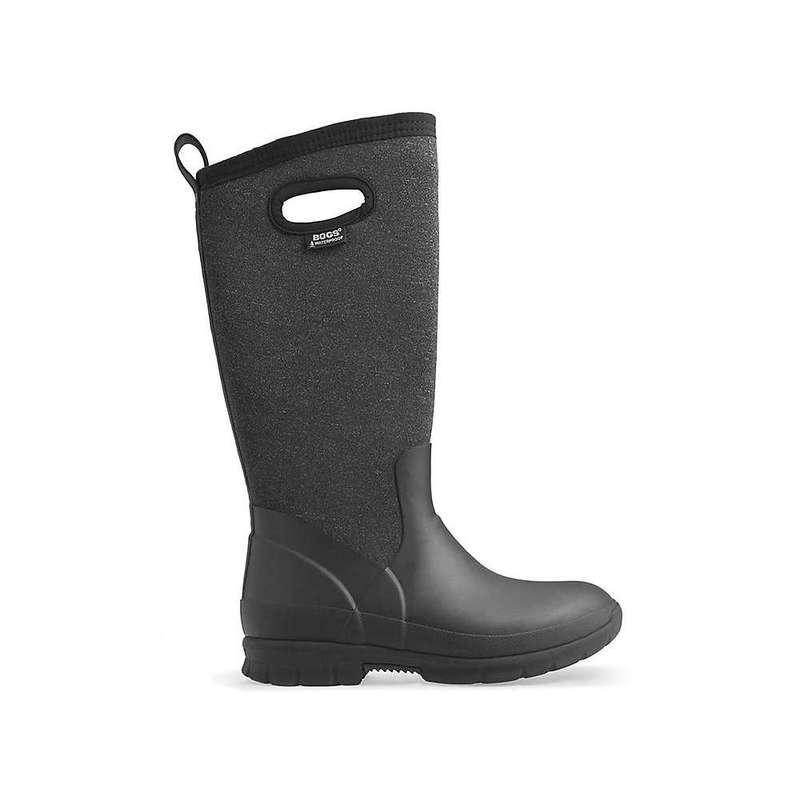 ボグス レディース ブーツ・レインブーツ シューズ Bogs Women's Crandall Tall Boot Black Multi