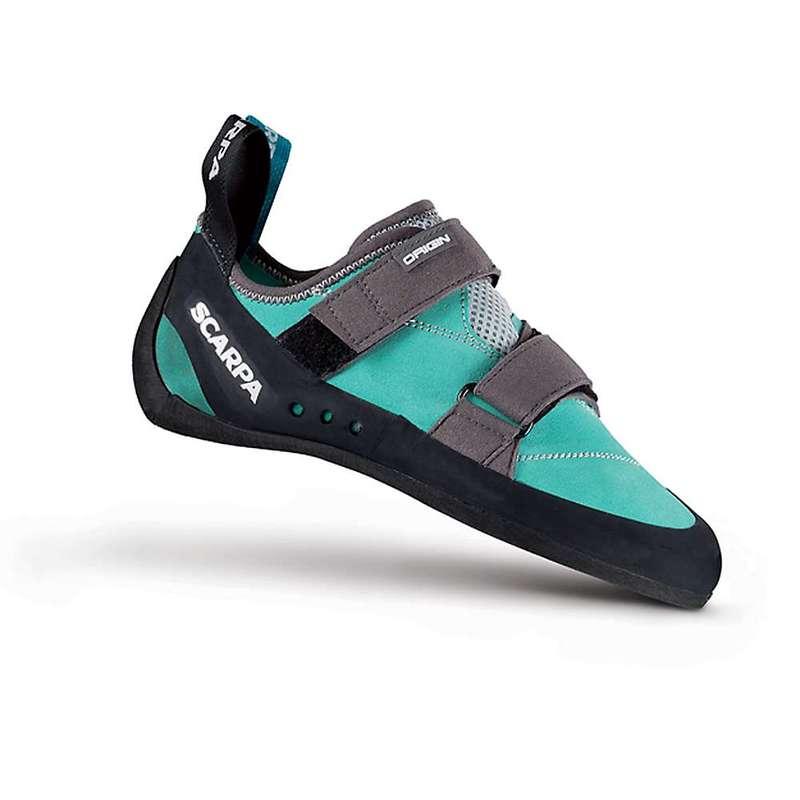スカルパ レディース スニーカー シューズ Scarpa Women's Origin Climbing Shoe Green Blue/Smoke