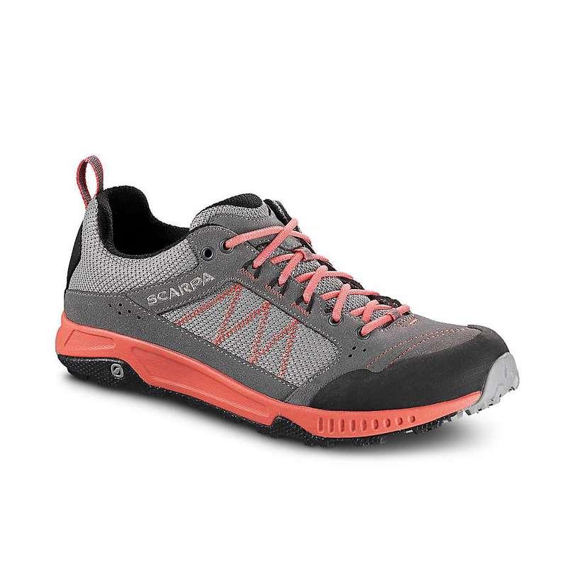 スカルパ レディース ブーツ・レインブーツ シューズ Scarpa Women's Rapid Shoe Grey/Coral