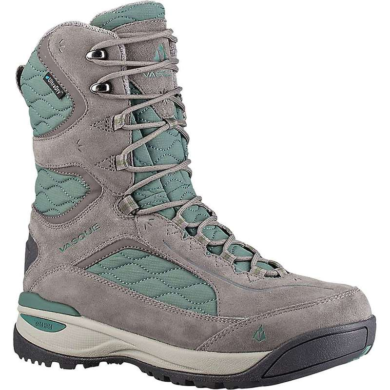 バスク レディース ブーツ・レインブーツ シューズ Vasque Women's Pow Pow III UltraDry Boot Grey/Silver Pine