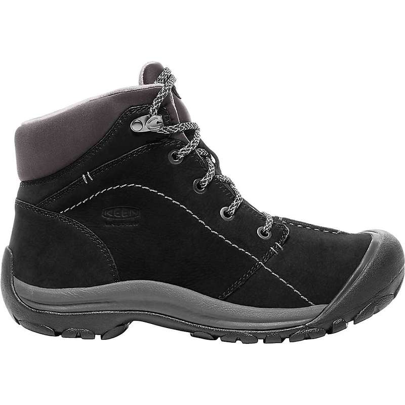 キーン レディース ブーツ・レインブーツ シューズ Keen Women's Kaci Winter Mid Waterproof Boot Black / Magnet