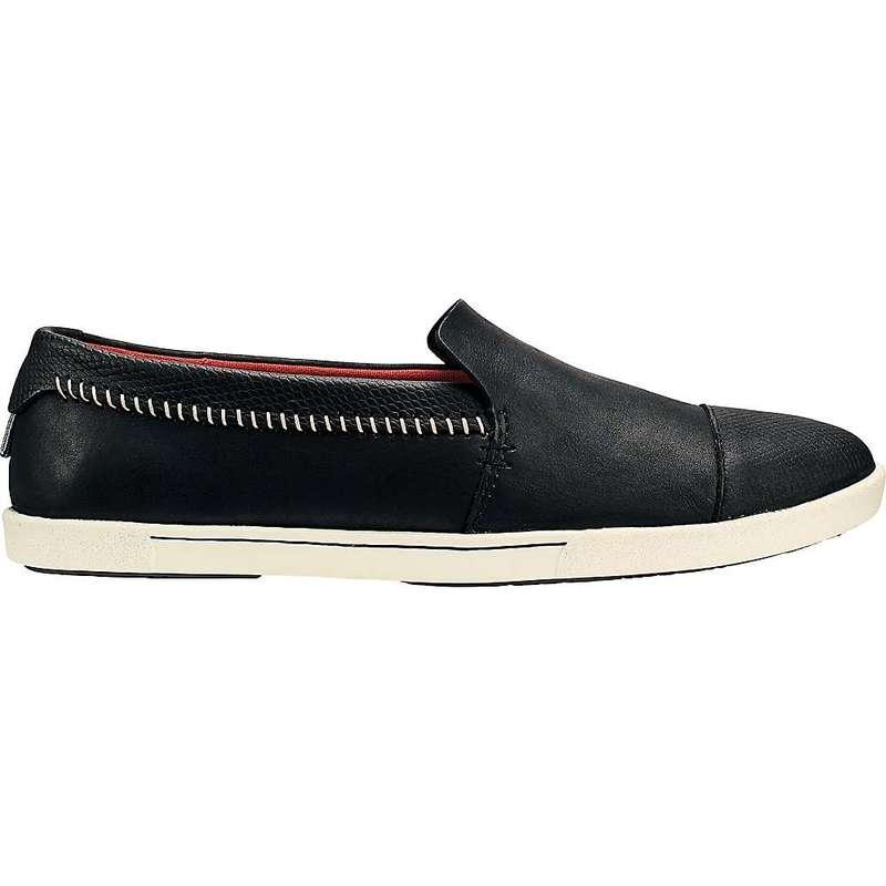 オルカイ レディース スニーカー シューズ OluKai Women's 'Alohi Shoe Black / Black