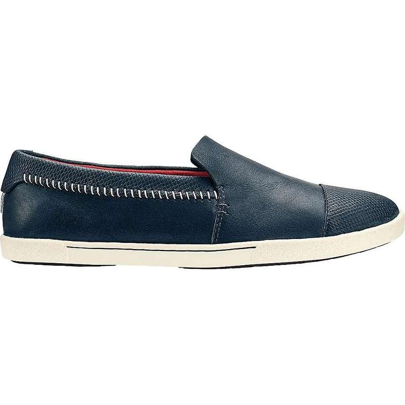 オルカイ レディース スニーカー シューズ OluKai Women's 'Alohi Shoe Trench Blue / Trench Blue