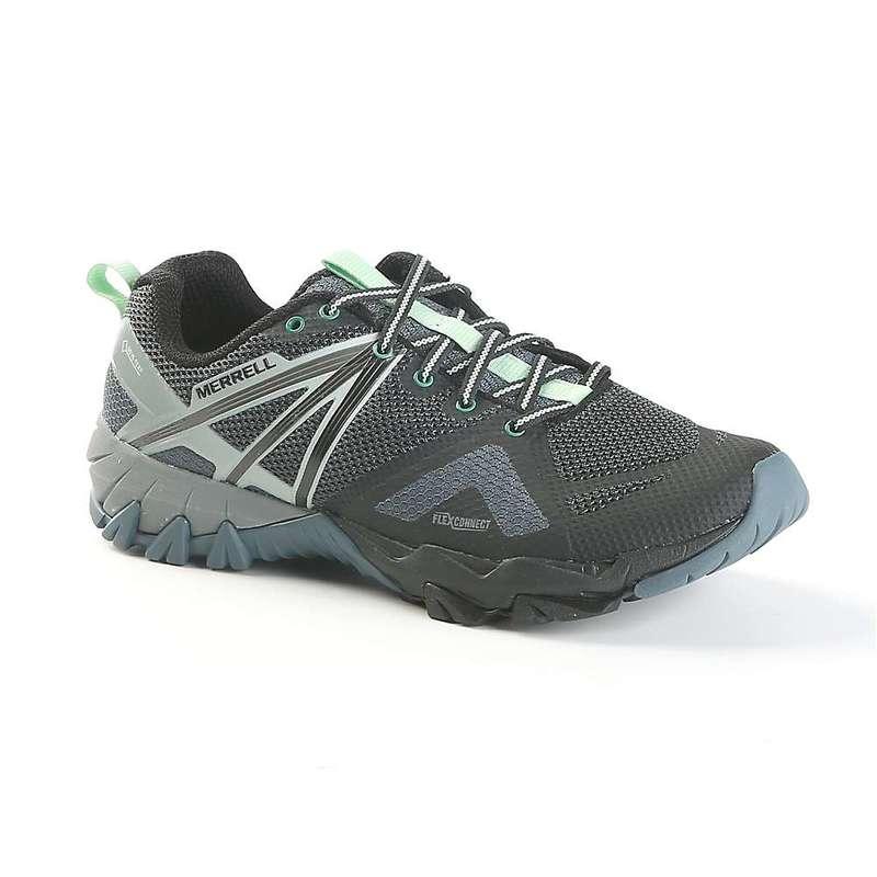 メレル レディース ブーツ・レインブーツ シューズ Merrell Women's MQM Flex Gore-Tex Shoe Grey / Black