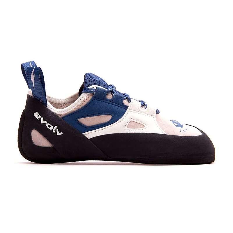 エボルブ レディース スニーカー シューズ Evolv Women's Skyhawk Climbing Shoe White / Blue