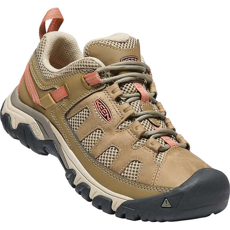 キーン レディース ブーツ・レインブーツ シューズ Keen Women's Targhee Vent Shoe Sandy / Cornstalk