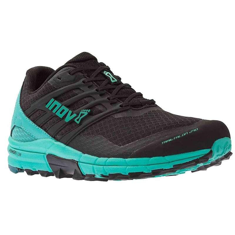 イノヴェイト レディース スニーカー シューズ Inov8 Women's Trailtalon 290 Shoe Black / Teal