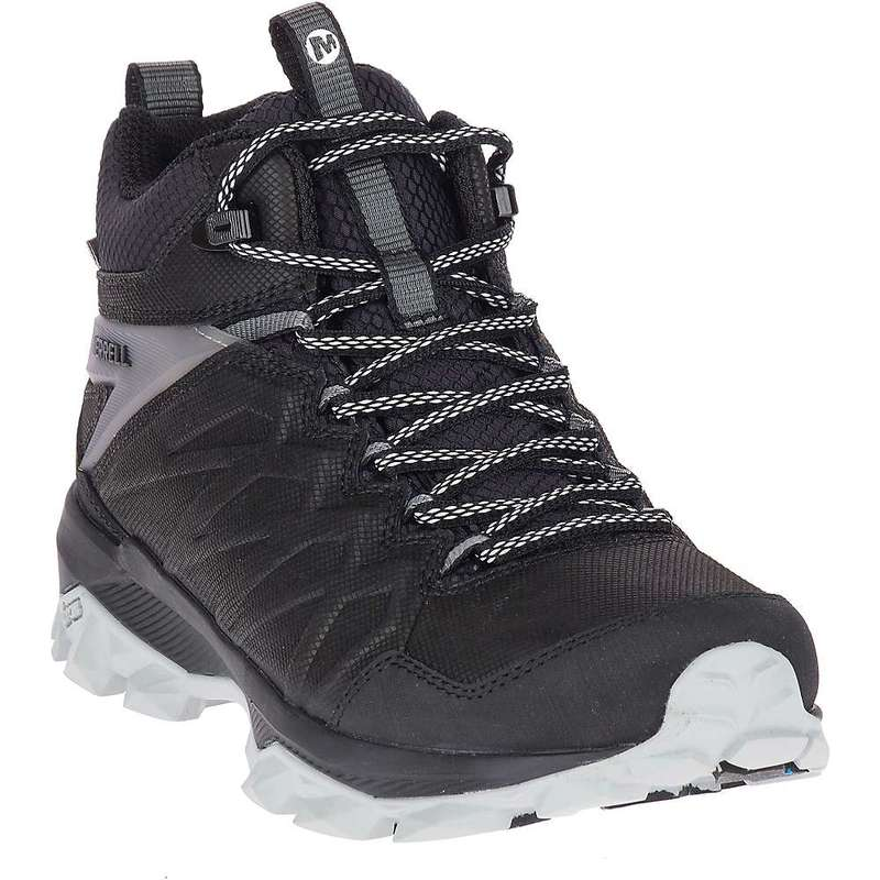メレル レディース ブーツ・レインブーツ シューズ Merrell Women's Thermo Freeze 6IN Waterproof Boot Black / Vapor