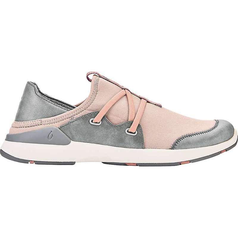 オルカイ レディース スニーカー シューズ OluKai Women's Miki Li Shoe Pearl Blush / Pale Grey