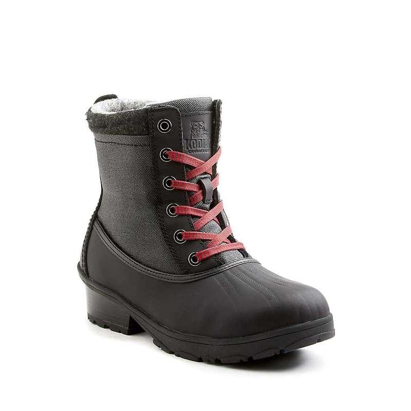 コディアック レディース ブーツ・レインブーツ シューズ Kodiak Women's Iscenty Arctic Grip Boot Black