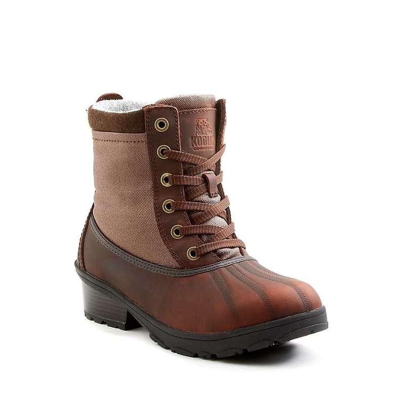 コディアック レディース ブーツ・レインブーツ シューズ Kodiak Women's Iscenty Arctic Grip Boot Dark Brown