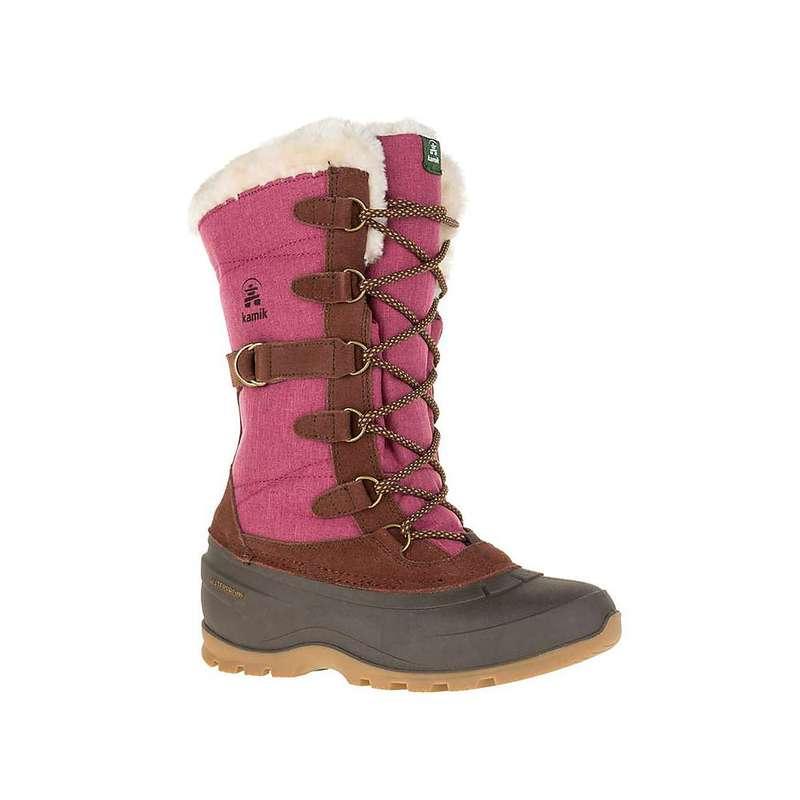 カミック レディース ブーツ・レインブーツ シューズ Kamik Women's Snovalley2 Boot Burgundy