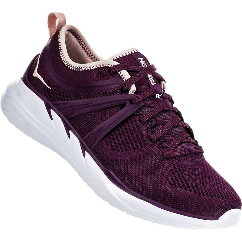 ホッカオネオネ レディース スニーカー シューズ Hoka One One Women's Tivra Shoe Italian Plum / Evening Sand