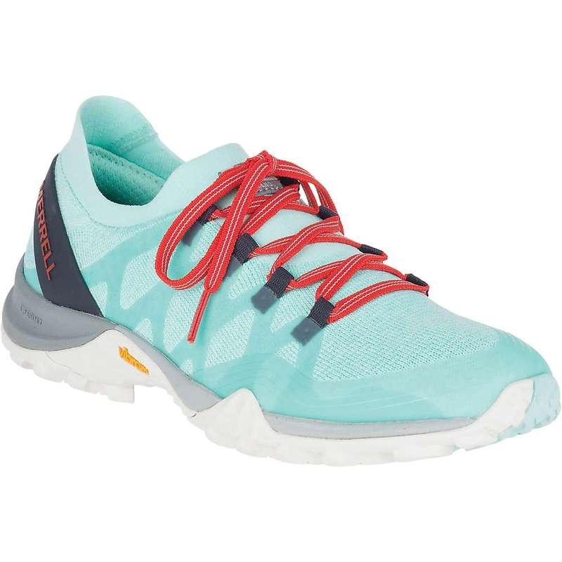メレル レディース ブーツ・レインブーツ シューズ Merrell Women's Siren 3 Knit Shoe Bleached Aqua