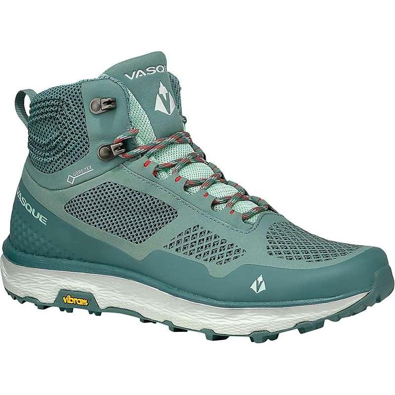 バスク レディース ブーツ・レインブーツ シューズ Vasque Women's Breeze LT GTX Shoe Trellis / Mist Green
