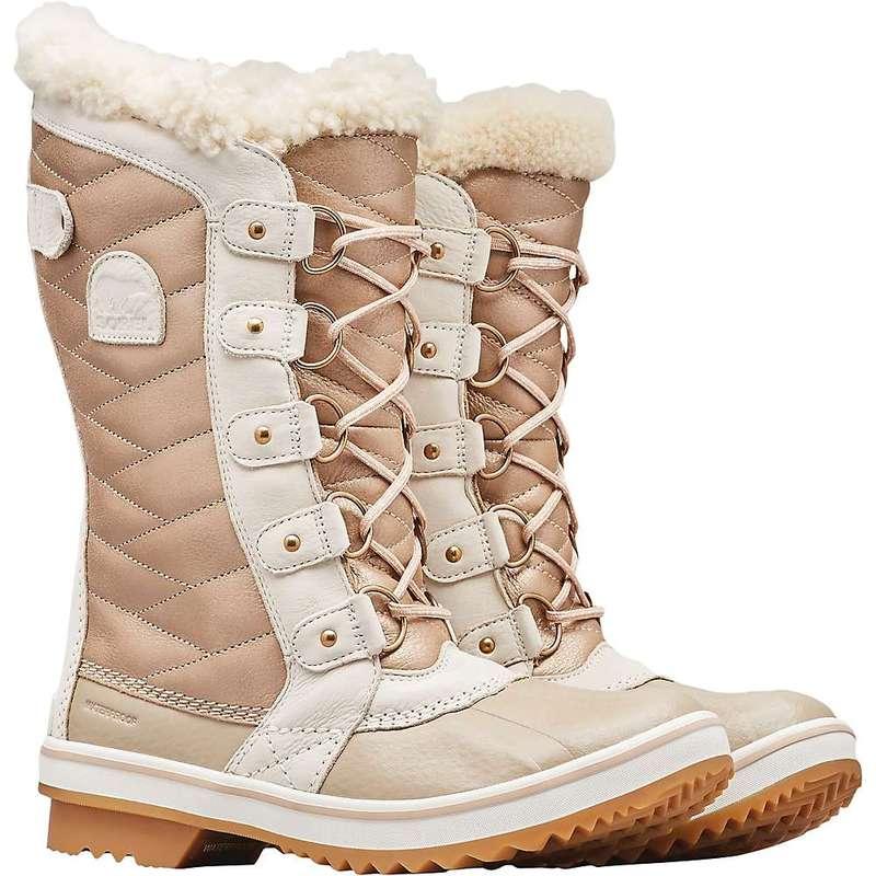ソレル レディース ブーツ・レインブーツ シューズ Sorel Women's Tofino II Lux Boot Natural Tan