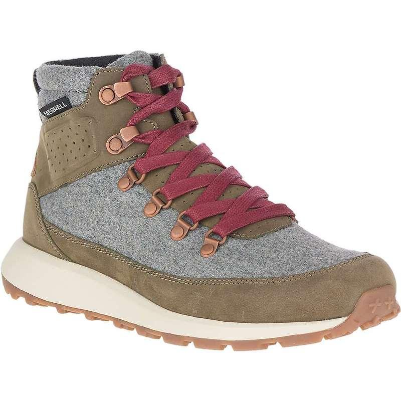 メレル レディース ブーツ・レインブーツ シューズ Merrell Women's Ashford Classic Chukka Boot Olive