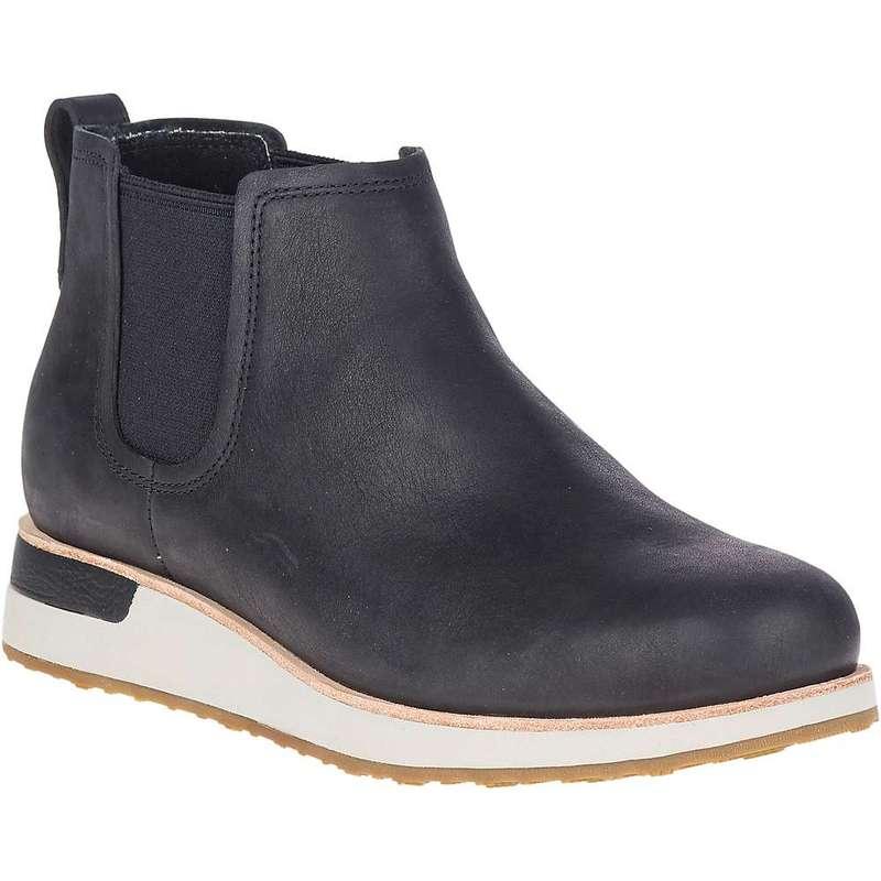 メレル レディース ブーツ・レインブーツ シューズ Merrell Women's Roam Chelsea Boot Black