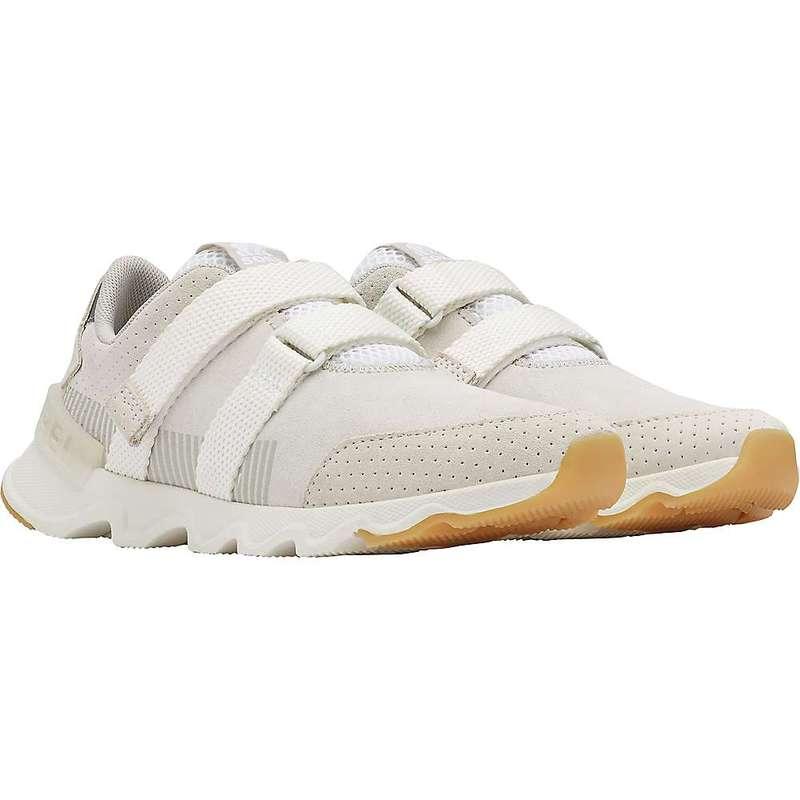 ソレル レディース スニーカー シューズ Sorel Women's Kinetic Lite Strap Shoe White
