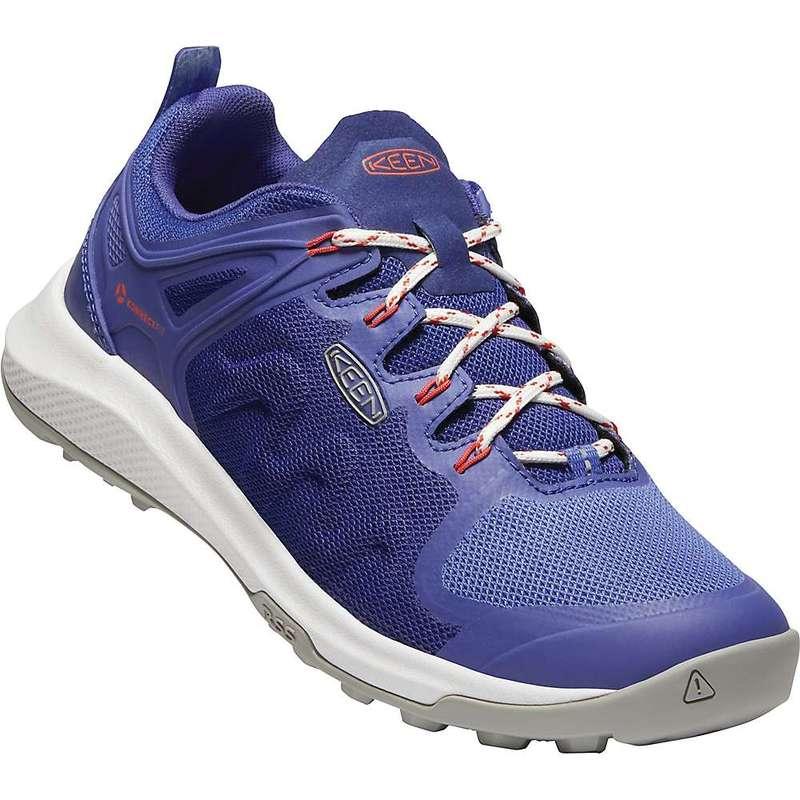 キーン レディース ブーツ・レインブーツ シューズ Keen Women's Explore Vent Shoe Mazarine Blue / Amparp Blue