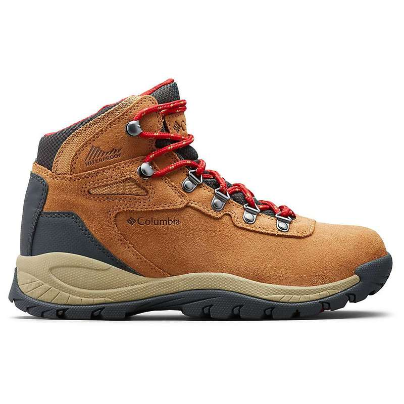 コロンビア レディース ブーツ・レインブーツ シューズ Columbia Women's Newton Ridge Plus WP Amped Boot Elk / Mountain Red