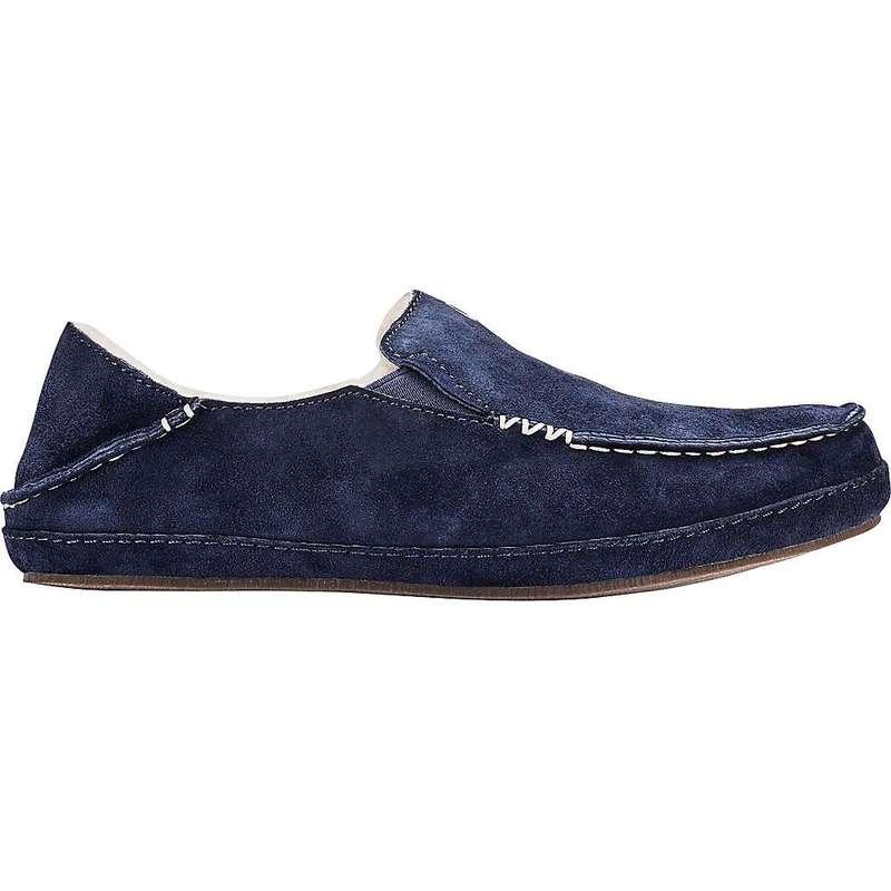 オルカイ レディース サンダル シューズ OluKai Women's Nohea Slipper Trench Blue / Trench Blue