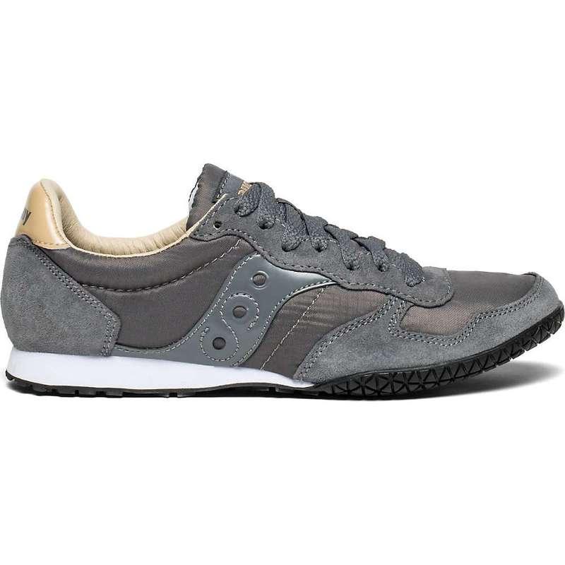 サッカニー レディース スニーカー シューズ Saucony Women's Bullet Shoe Grey / Tan