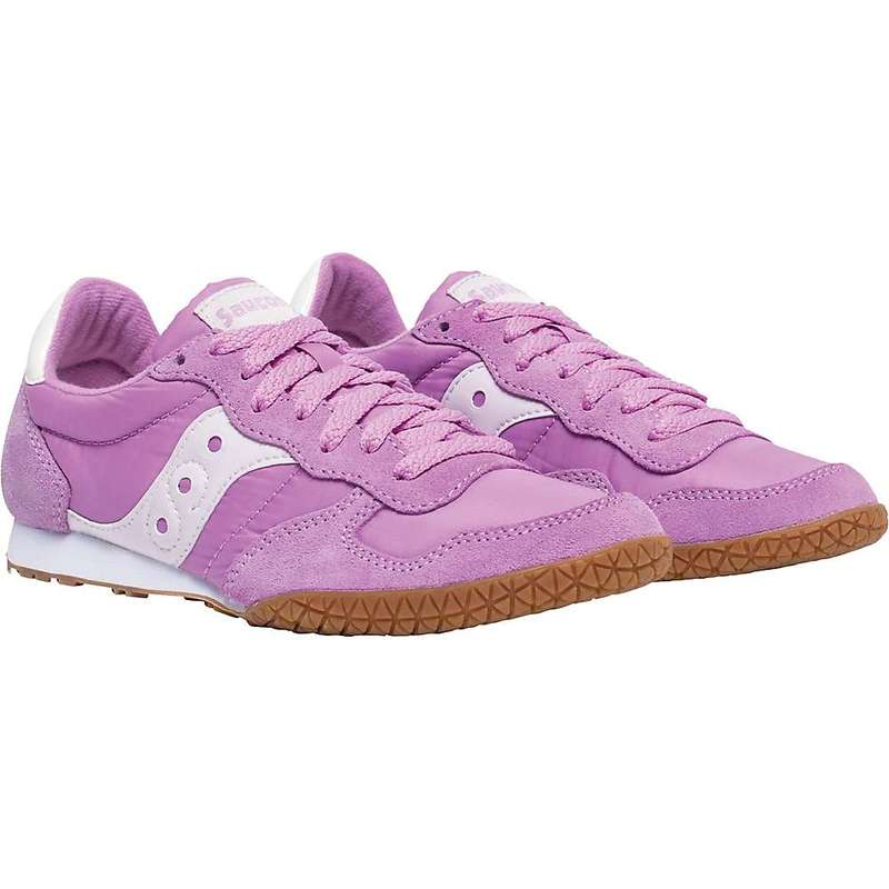 サッカニー レディース スニーカー シューズ Saucony Women's Bullet Shoe Violet/Gum
