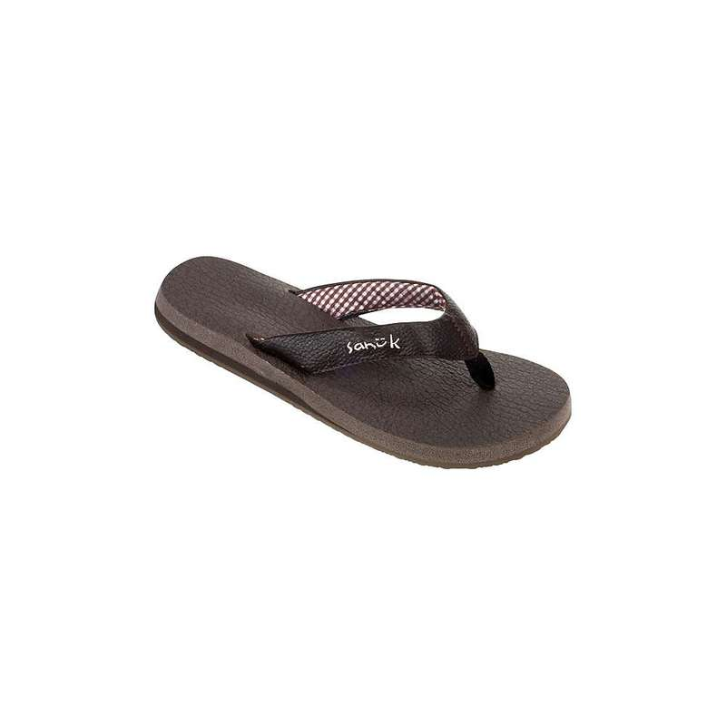 サヌーク レディース サンダル シューズ Sanuk Women's Yoga Mat Sandals Brown