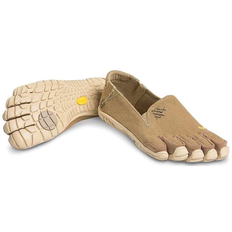 ビブラムファイブフィンガーズ レディース スニーカー シューズ Vibram Five Fingers Women's CVT Hemp Shoe Khaki