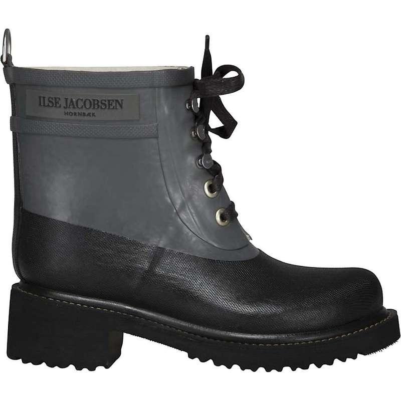 イルセヤコブセン レディース ブーツ・レインブーツ シューズ Ilse Jacobsen Women's Diamond Rub 90 Boot Grey