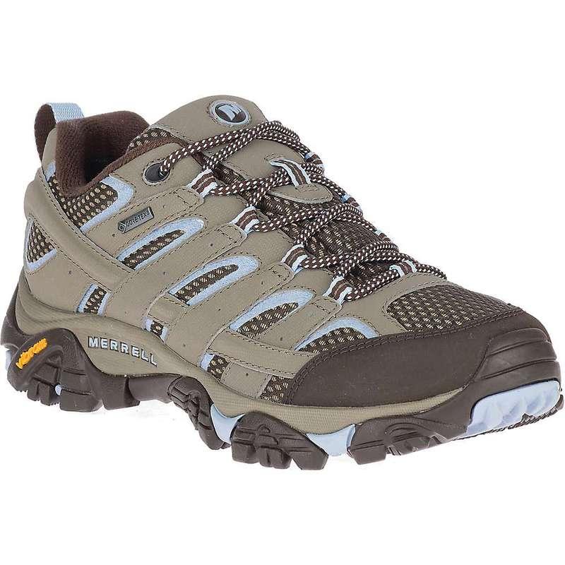 メレル レディース ブーツ・レインブーツ シューズ Merrell Women's MOAB 2 Gore-Tex Shoe Brindle