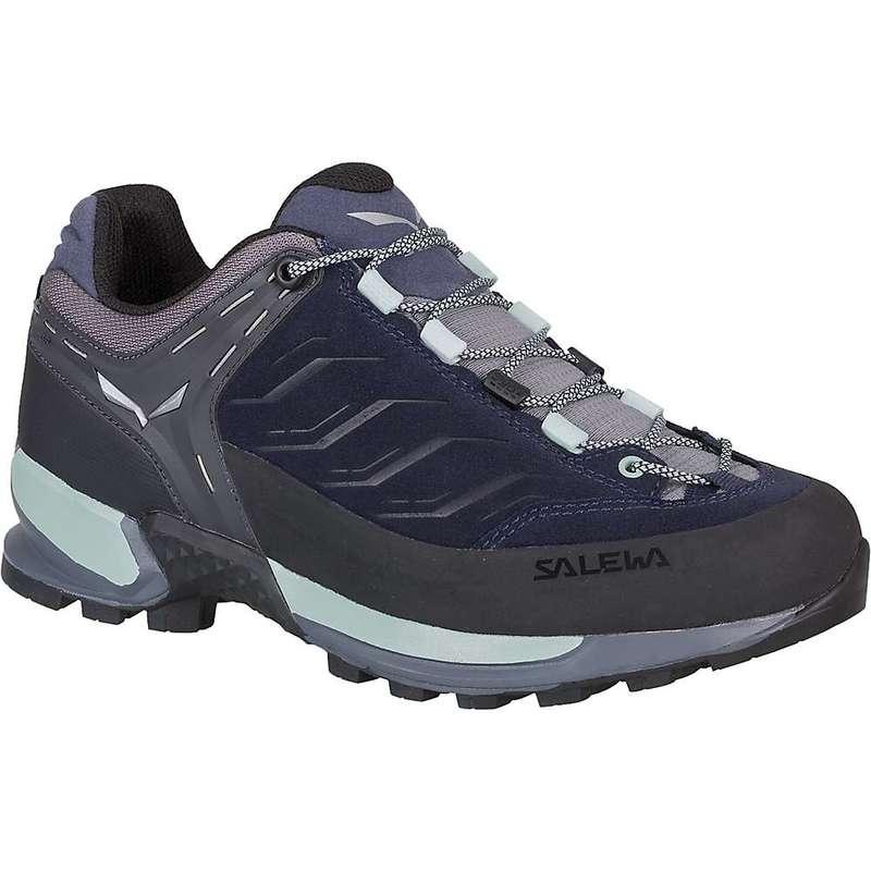 サレワ レディース ブーツ・レインブーツ シューズ Salewa Women's MTN Trainer Shoe Premium Navy / Subtle Green