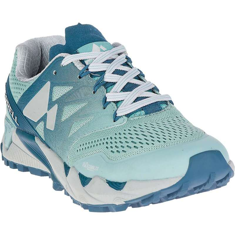 メレル レディース スニーカー シューズ Merrell Women's Agility Peak Flex 2 E-Mesh Shoe Legion Blue
