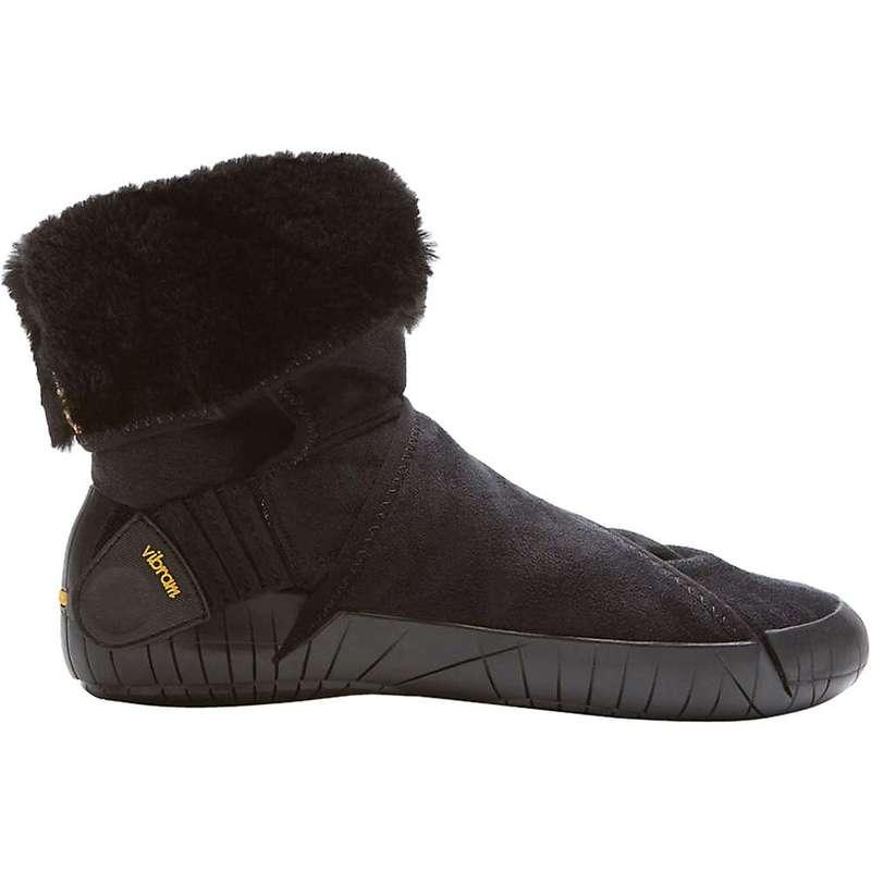 ビブラムファイブフィンガーズ レディース ブーツ・レインブーツ シューズ Vibram Women's Mid Eastern Traveler Boot Black