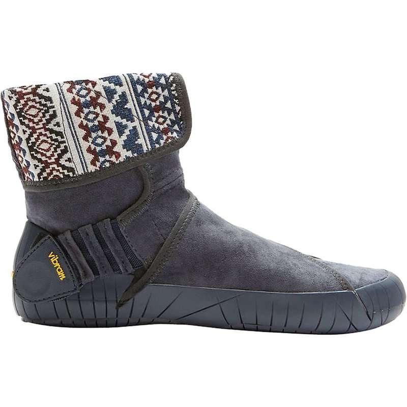 ビブラムファイブフィンガーズ レディース ブーツ・レインブーツ シューズ Vibram Women's Mid Eastern Traveler Boot Grey