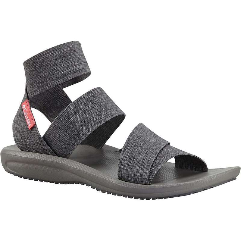コロンビア レディース サンダル シューズ Columbia Women's Barraca Strap Sandal Dark Grey / Wild Salmon